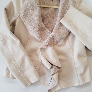 Faux suede jacket, S, 190